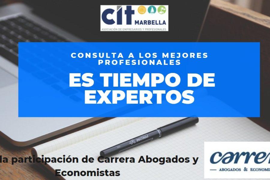 PONENCIA SOBRE HERRAMIENTAS JURÍDICAS EN TIEMPOS DE COVID CON CIT MARBELLA